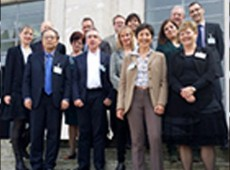 Group photo of people from the Aligning Repository Networks meeting