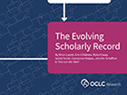 The Evolving Scholarly Record report cover