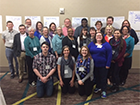 SHARE curation associates with members of the SHARE Operations Team and the Center for Open Science SHARE development team, Atlanta, January 2017