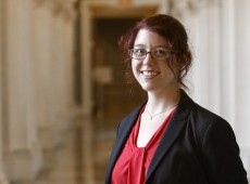 Megan Potterbusch at the Library of Congress, Thomas Jefferson Building