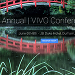 VIVO Conference website banner image